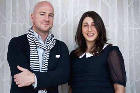 Joining forces: Toby Southgate and Laura Simon