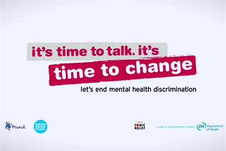 Time to Change: mental health charity rolls out 'time to talk' campaign