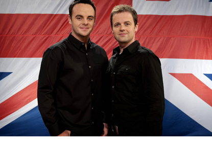 And and Dec... Geordies