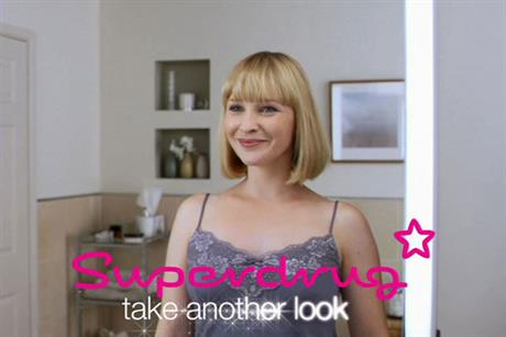 Superdrug: spent 6 million on advertising last year
