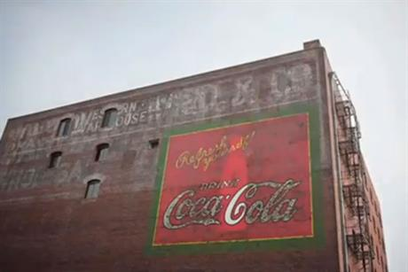 Coca-Cola: tackles obseity in latest ad