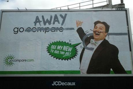 GoCompare: brand character Gio Compario is targeted for assassination in latest ad