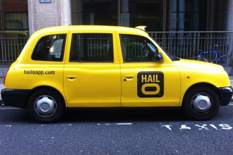 Hailo: app enables customers to electronically 'hail' black cabs
