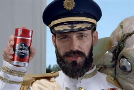 Old Spice: introduces the Sea Captain in the US
