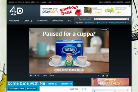 Tetley: 'pause for a cuppa' campaign