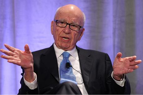 News Corp: boss Rupert Murdoch