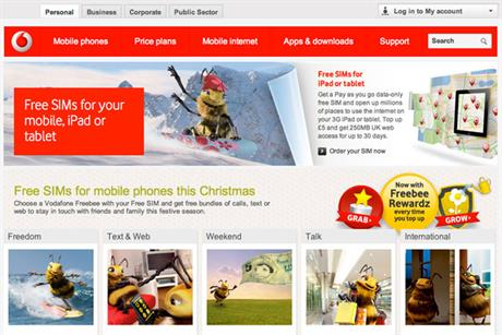 Recent work for Vodafone