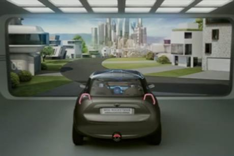Mini: creates 3D film to support launch of the Rocketman