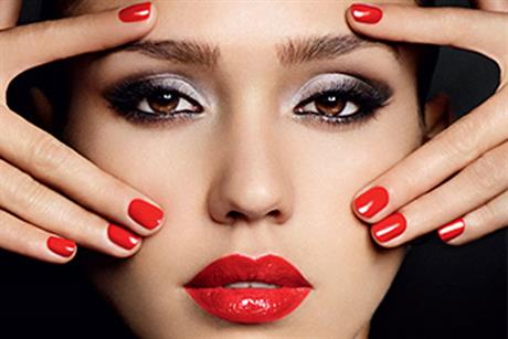 Jessica Alba: stars in Revlon 'lips and nails' campaign