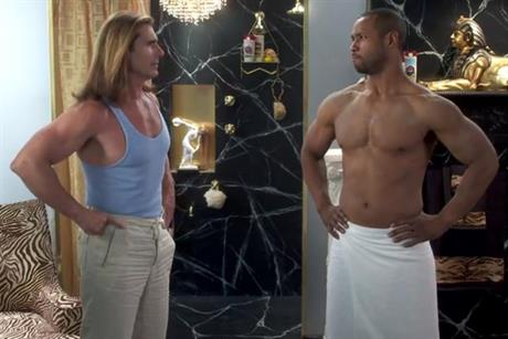 Old Spice: hunks Fabio and Mustafa square up online