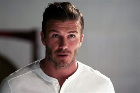 David Beckham: stars in Galaxy Note campaign