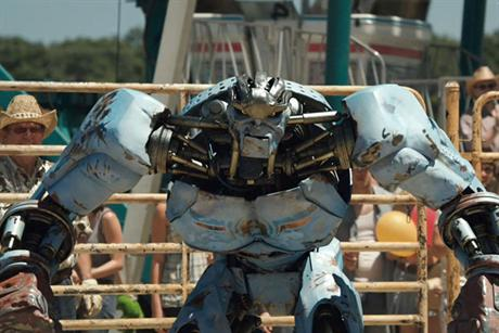 Blinkbox: showing Real Steel