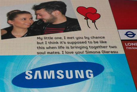 Samsun: Valentine's Day campaign by Cheil Worldwide