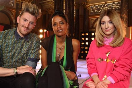 Styled to Rock: hosts Henry Holland, Lysa Cooper and Nicola Roberts