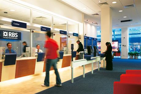 RBS: offloading hundreds of its branches to Santander