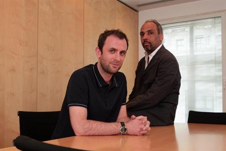 Jonathan Bottomley and Jason Gonsalves: take on joint role at BBH