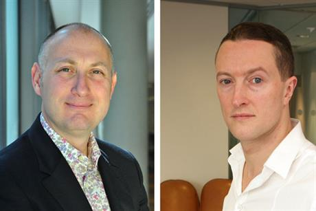 Millar (l) and Morris: Vizeum's UK managing director will be replaced by the Carat deputy MD