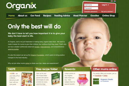 Organix…integrated account