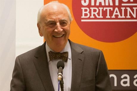 Lord Young of Graffham: driving force behind the Start Up Loans initiative