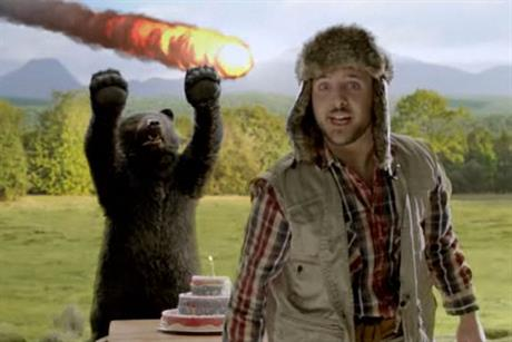 TippEx: hunter and bear return in brand's latest online ad