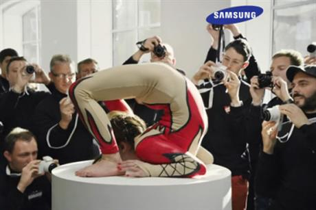 Samsung: unveils TV ad featuring 143 David Baileys