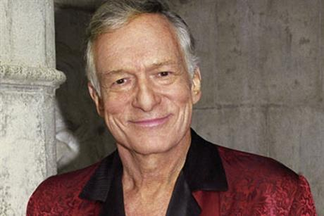 Hugh Hefner... Playboy founder