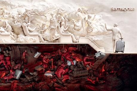 Samsonite: 'heaven & hell' campaign wins Grand Prix for JWT Shanghai