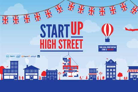 StartUp Britain: Iris will create campaign for pop-up initiative