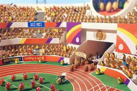 Cadbury's: TV ad features Crme Eggs in mock Olympics opening ceremony