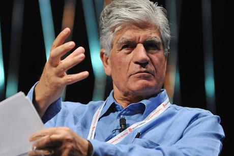 Publicis chief executive Maurice Lévy