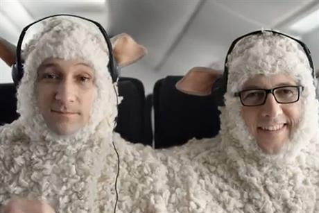 Air New Zealand: quirky ads feature sheep twins Mason and Jason