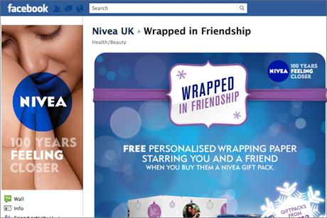 Nivea: kicks off Facebook campaign