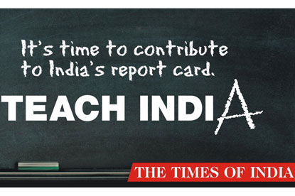 Teach India...winning campaign from JWT Mumbai