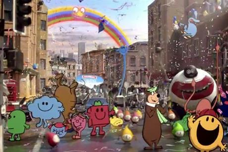 Müller Dairy; cartoon-themed ad to debut during The X Factor