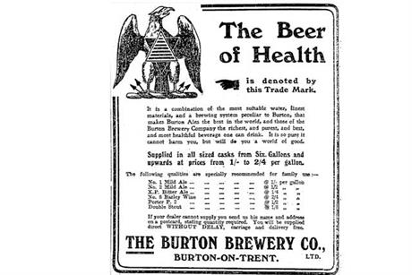The history of advertising in quite a few objects: 42 Gone for a Burton beer ads