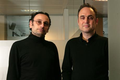 Michaelides (l) and Bednash: exploring 'new opportunities' within WPP