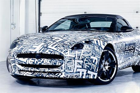 Jaguar: the F-Type model will roll out in the middle of next year