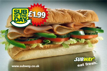 Subway... new agencies