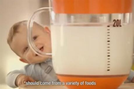 Cow and Gate: 'growing-up milk' TV campaign