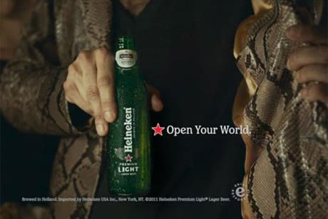 Heineken: this year's Snakeskin Jacket campaign by Wieden+Kennedy New York