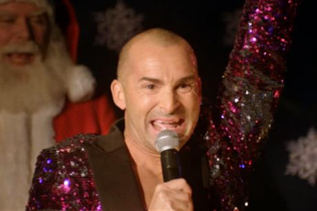 Louis Spence: stars in GoCompare's Christmas campaign