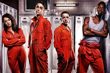 Misfits…the comedy-drama remains on C4's programming schedule