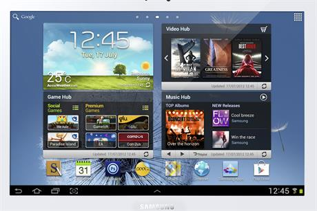 Samsung Galaxy Note 10.1…its stylus sets the device apart