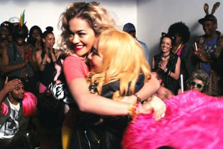 MasterCard: Rita Ora and fan feature in pop video ad shown during The Brits