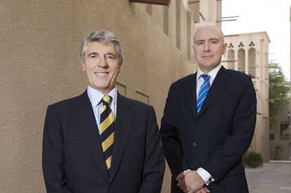 David King and John Hobday: FD's chairman and MD Gulf region