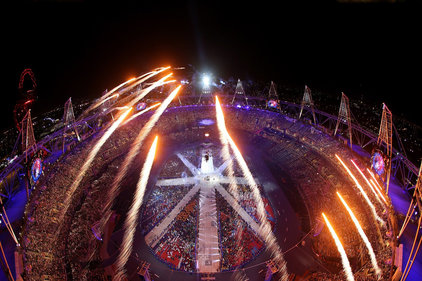 Spectacle: The Olympic closing ceremony