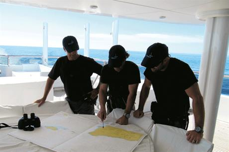Expertise: MAST provides security for ships and yachts