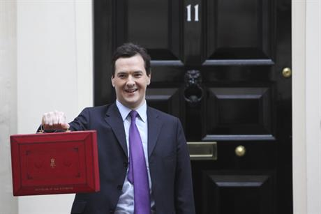 Challenge: George Osborne delivers his Budget (Rex Features)