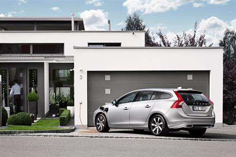 Volvo V60: 'The world's first plug-in diesel hybrid'