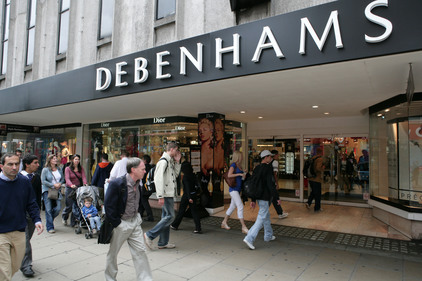 High Street: Debenhams is reviewing its financial PR requirements